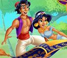 Yasemin ve Aladdin Öpücüğü