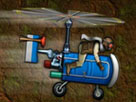 yeraltı helikopteri
