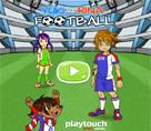 Yuki ve Rina Futbol