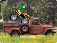 Zorlu ATV motoru